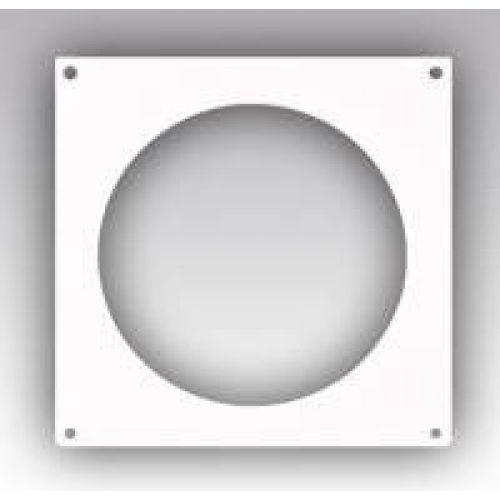 10НКП, Накладка торцевая пластик 150х150, для воздуховода Ø100
