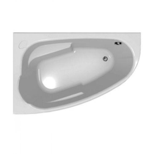 Ванна акриловая 140*90 см JOANNA NEW левая S301-165 в наб (ванна ножки), Польша